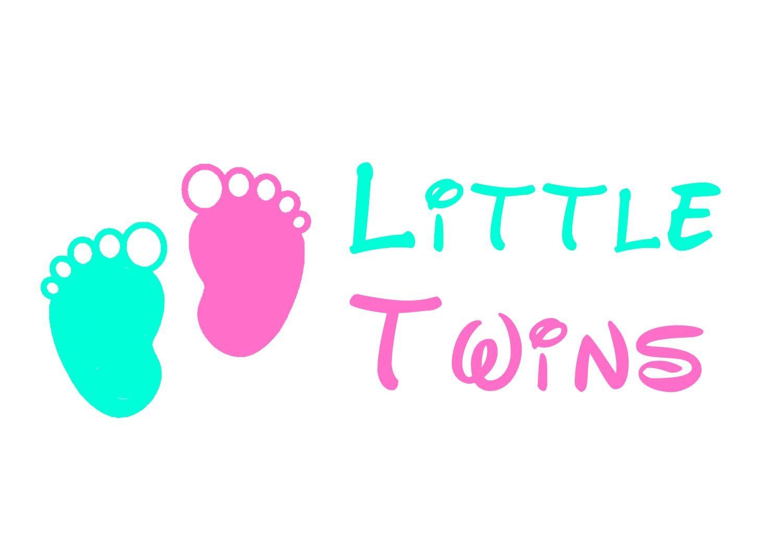 Логотип детского интернет-магазина для двойняшек - дизайнер leras92