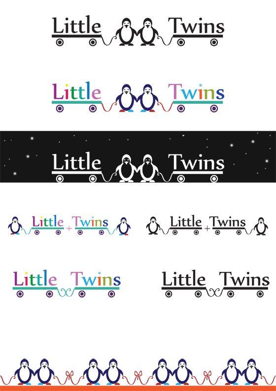 Логотип детского интернет-магазина для двойняшек - дизайнер harchenya