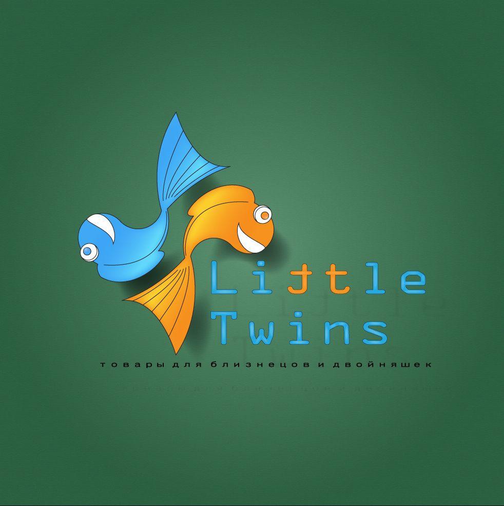 Логотип детского интернет-магазина для двойняшек - дизайнер gena_gordienko