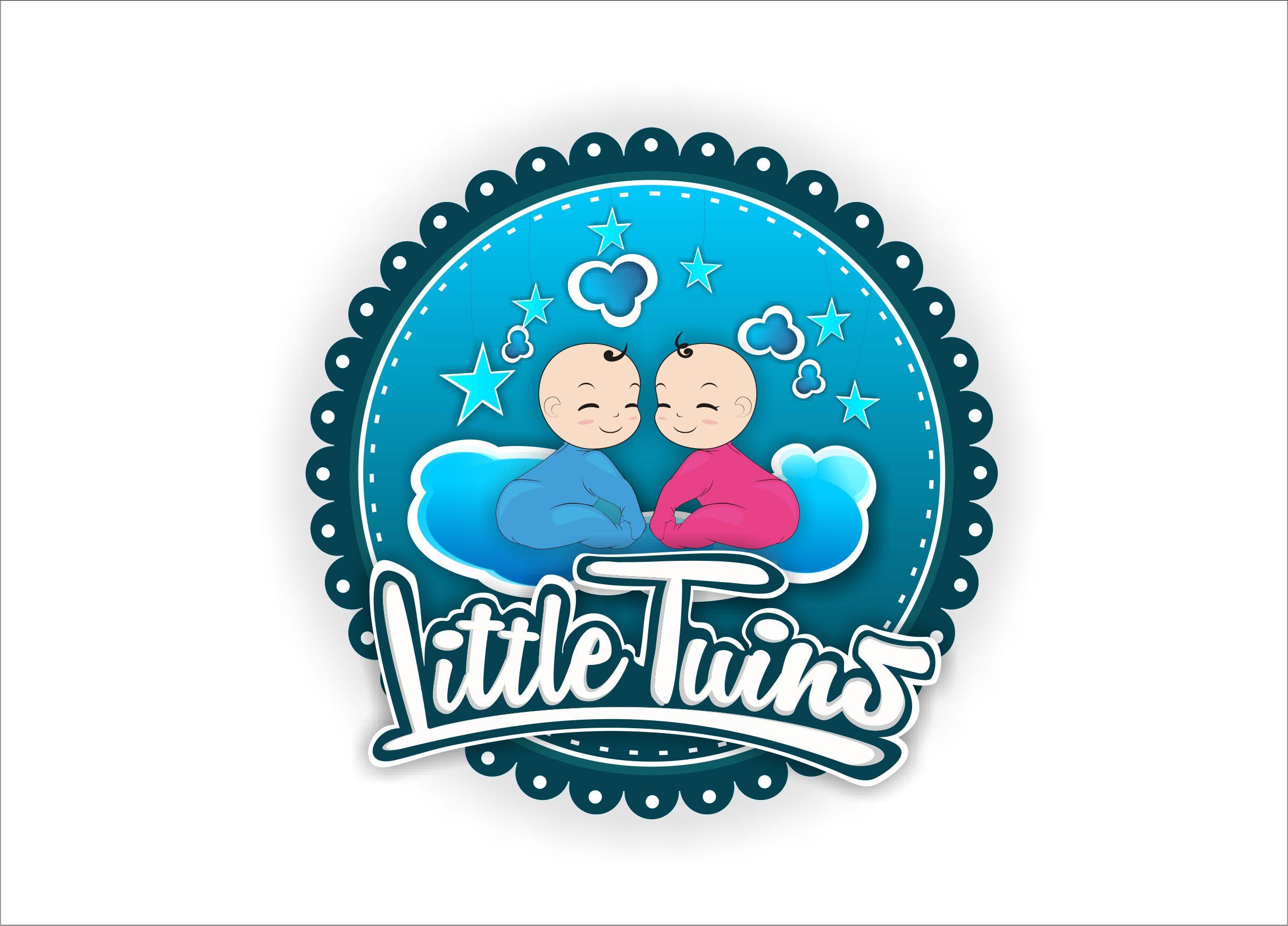 Логотип детского интернет-магазина для двойняшек - дизайнер La_persona