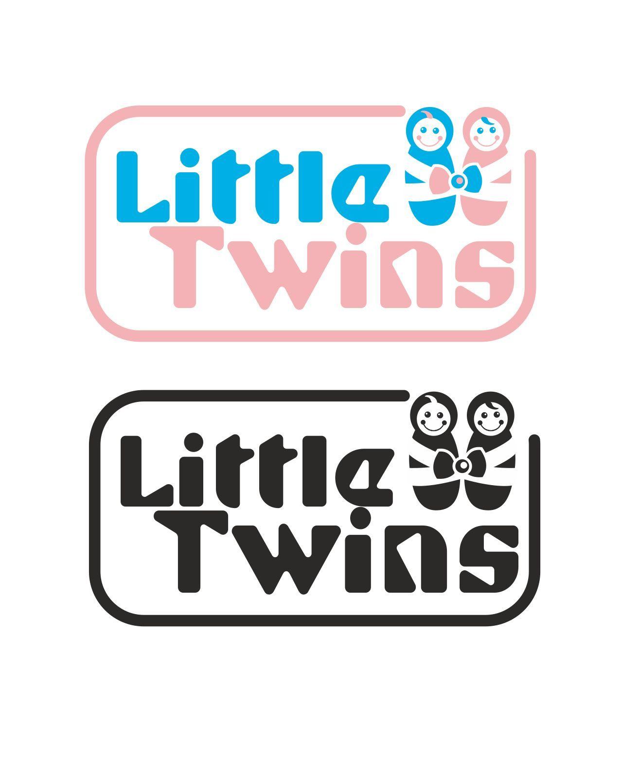 Логотип детского интернет-магазина для двойняшек - дизайнер elenuchka