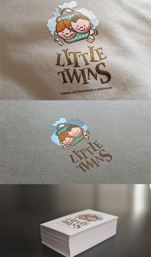 Логотип детского интернет-магазина для двойняшек - дизайнер mrtenzor
