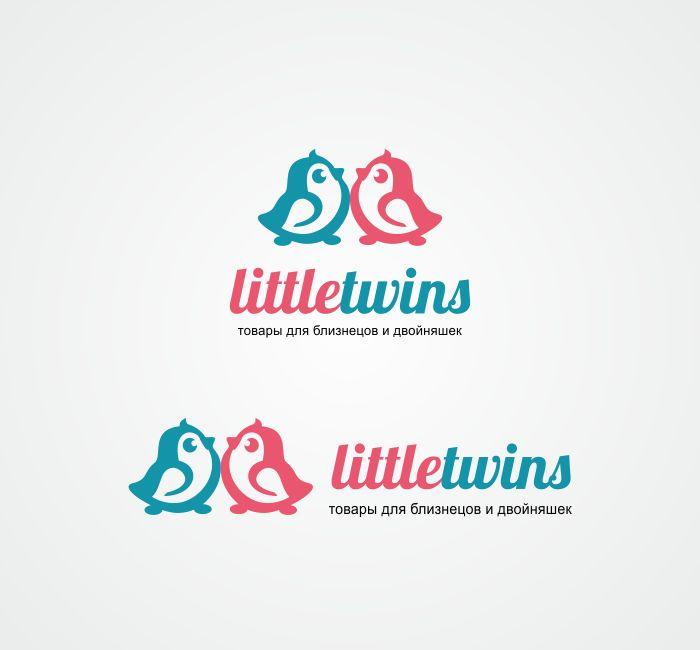 Логотип детского интернет-магазина для двойняшек - дизайнер Lara2009