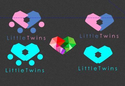 Логотип детского интернет-магазина для двойняшек - дизайнер Boom2Art