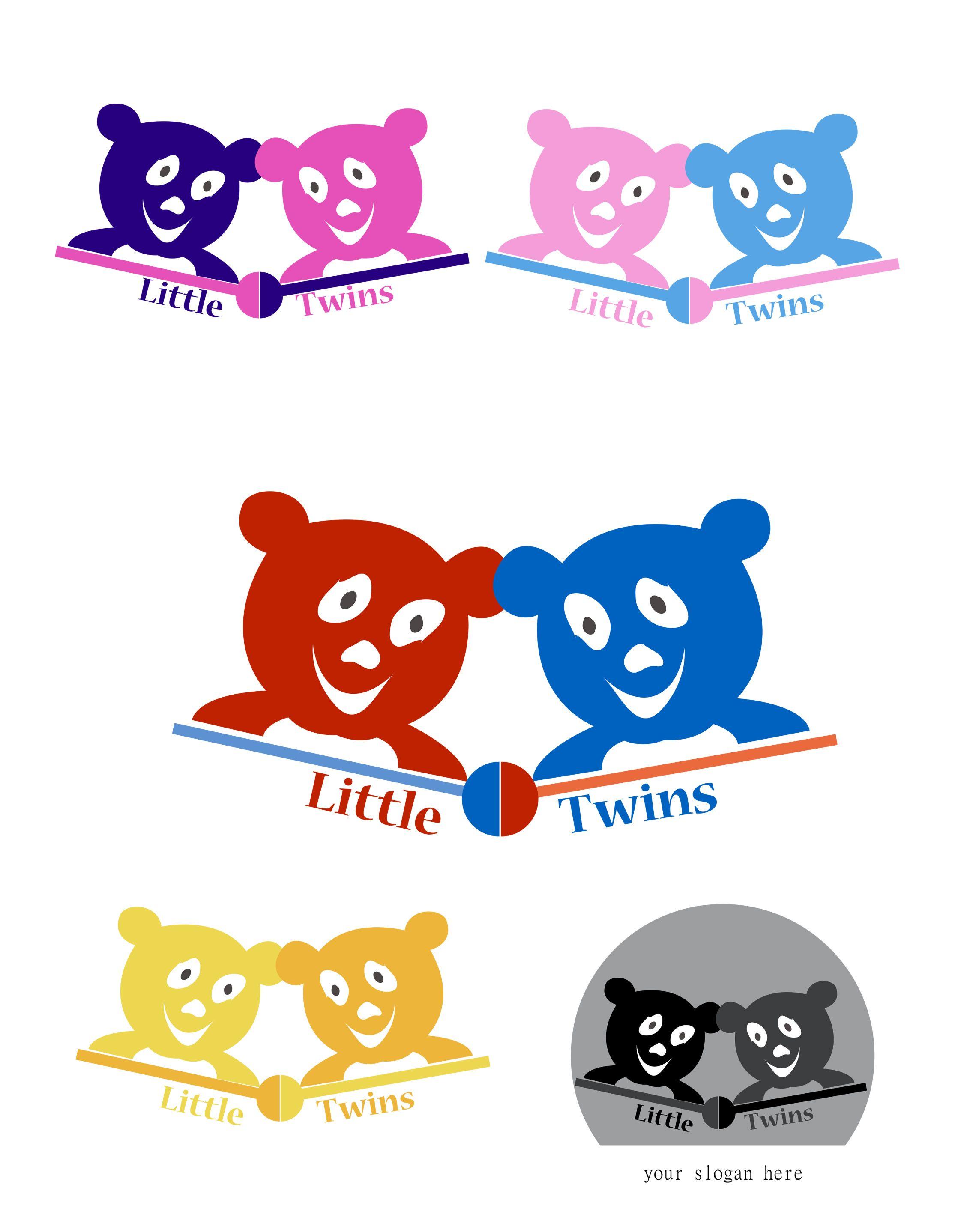 Логотип детского интернет-магазина для двойняшек - дизайнер Artfoth