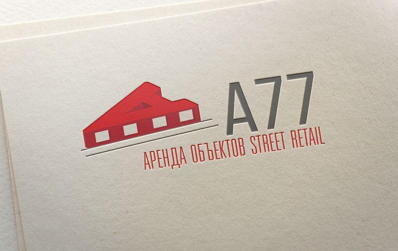 Лого для сайта по коммерческой недвижимости A77.RU - дизайнер ready2flash