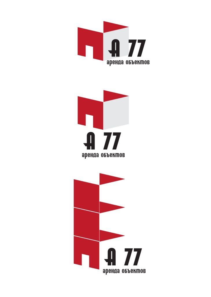 Лого для сайта по коммерческой недвижимости A77.RU - дизайнер dynila3