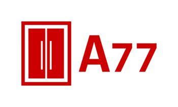 Лого для сайта по коммерческой недвижимости A77.RU - дизайнер uniman