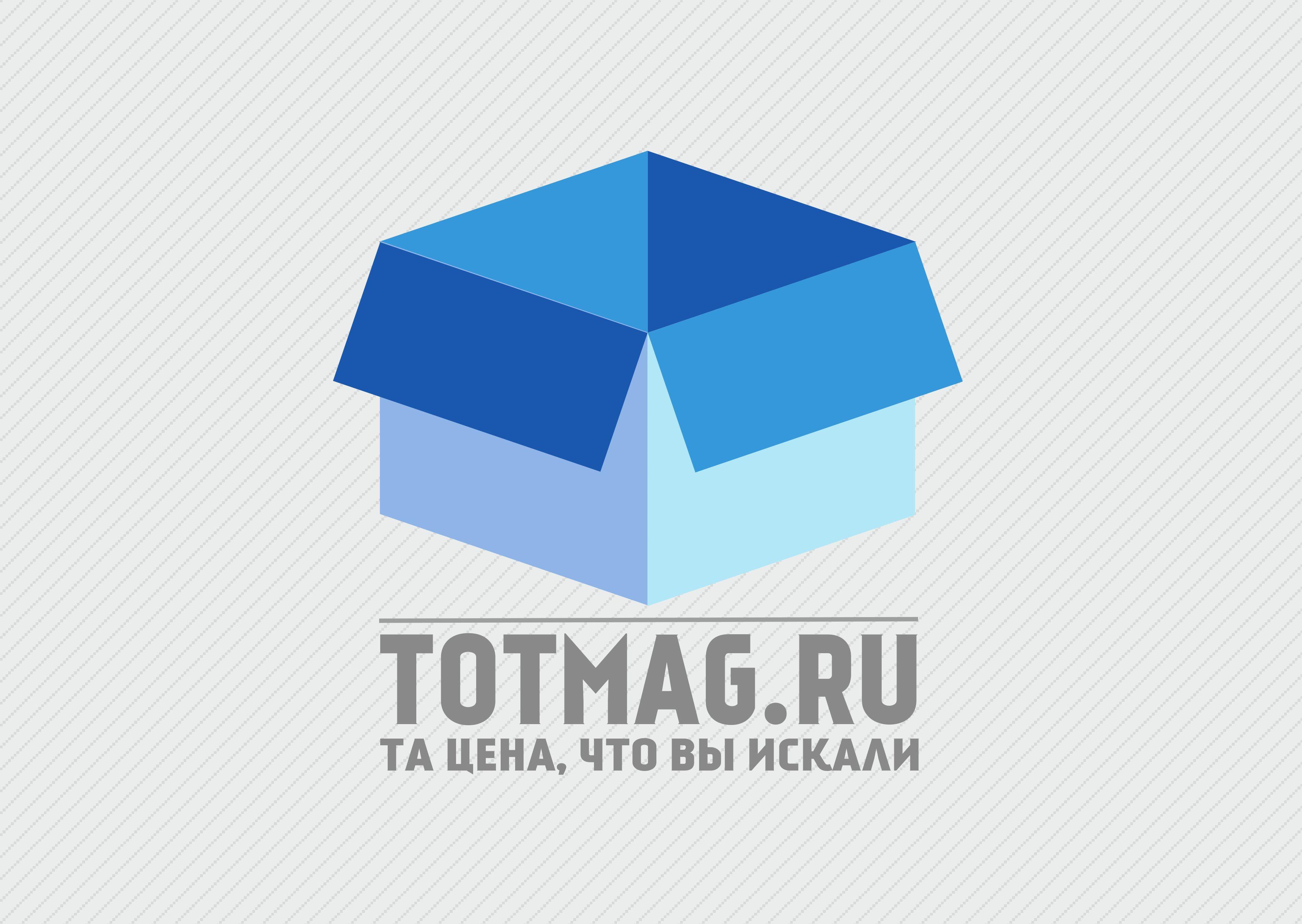 Логотип для интернет магазина totmag.ru - дизайнер VadimNJet