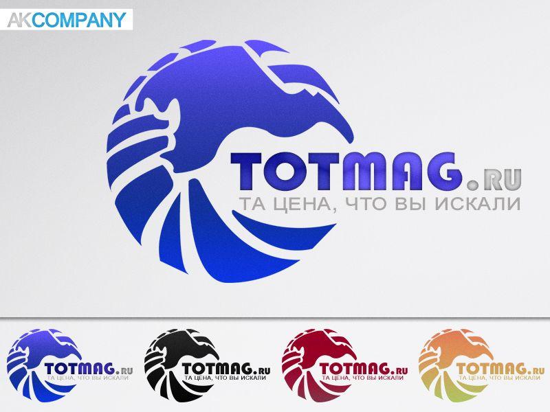Логотип для интернет магазина totmag.ru - дизайнер Andrewnight