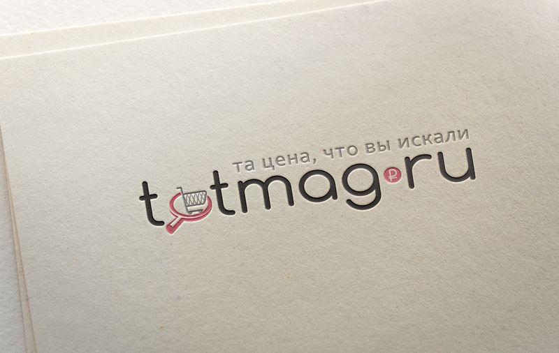Логотип для интернет магазина totmag.ru - дизайнер ready2flash