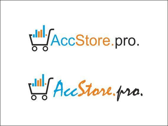 Логотип для магазина аккаунтов - дизайнер elenuchka