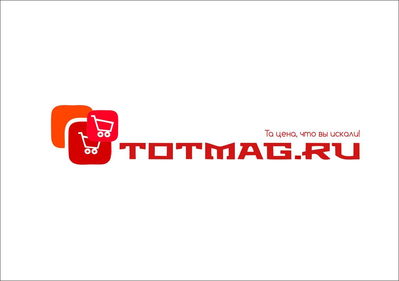 Логотип для интернет магазина totmag.ru - дизайнер PandDesign