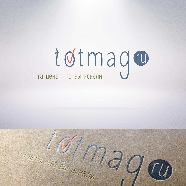 Логотип для интернет магазина totmag.ru - дизайнер Nostr