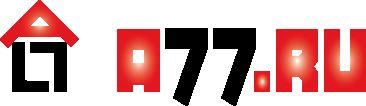 Лого для сайта по коммерческой недвижимости A77.RU - дизайнер splinter