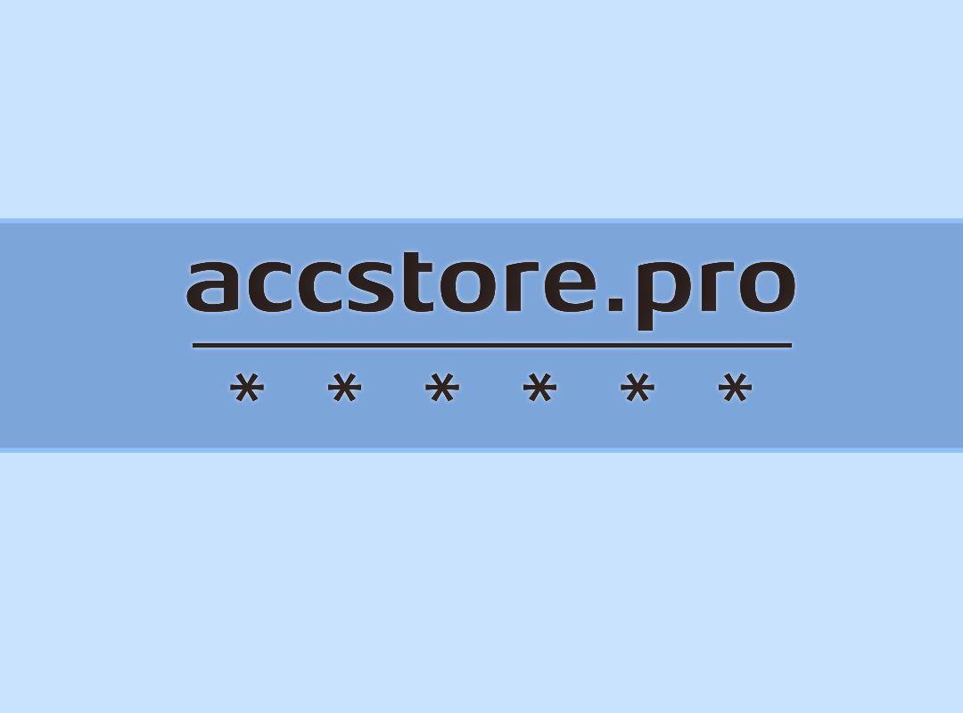Логотип для магазина аккаунтов - дизайнер sasha_frlns