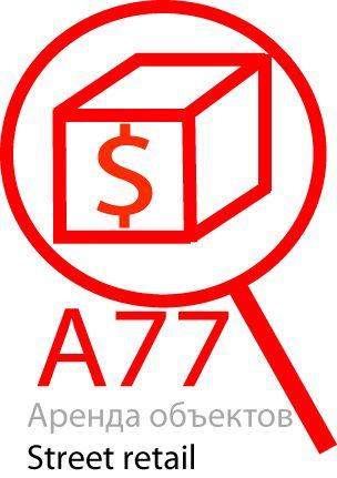 Лого для сайта по коммерческой недвижимости A77.RU - дизайнер VitaliyMakko