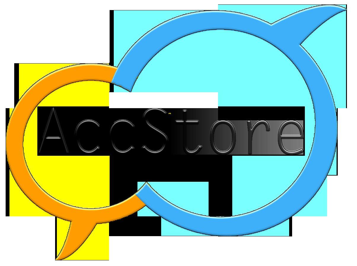 Логотип для магазина аккаунтов - дизайнер Viktor_Goncharo