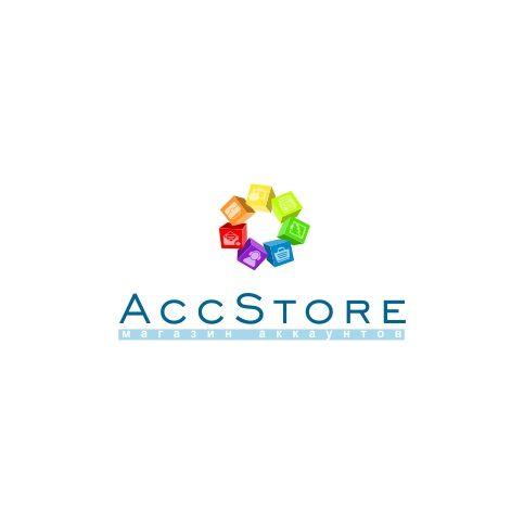 Логотип для магазина аккаунтов - дизайнер composter