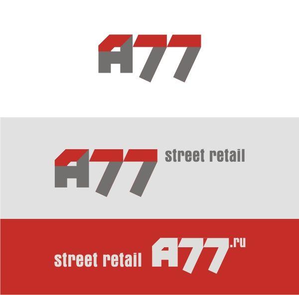 Лого для сайта по коммерческой недвижимости A77.RU - дизайнер pashashama