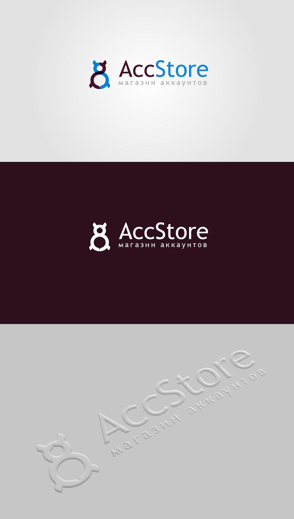 Логотип для магазина аккаунтов - дизайнер barania