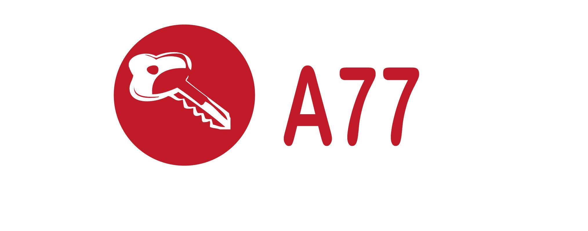 Лого для сайта по коммерческой недвижимости A77.RU - дизайнер Andrey17061706