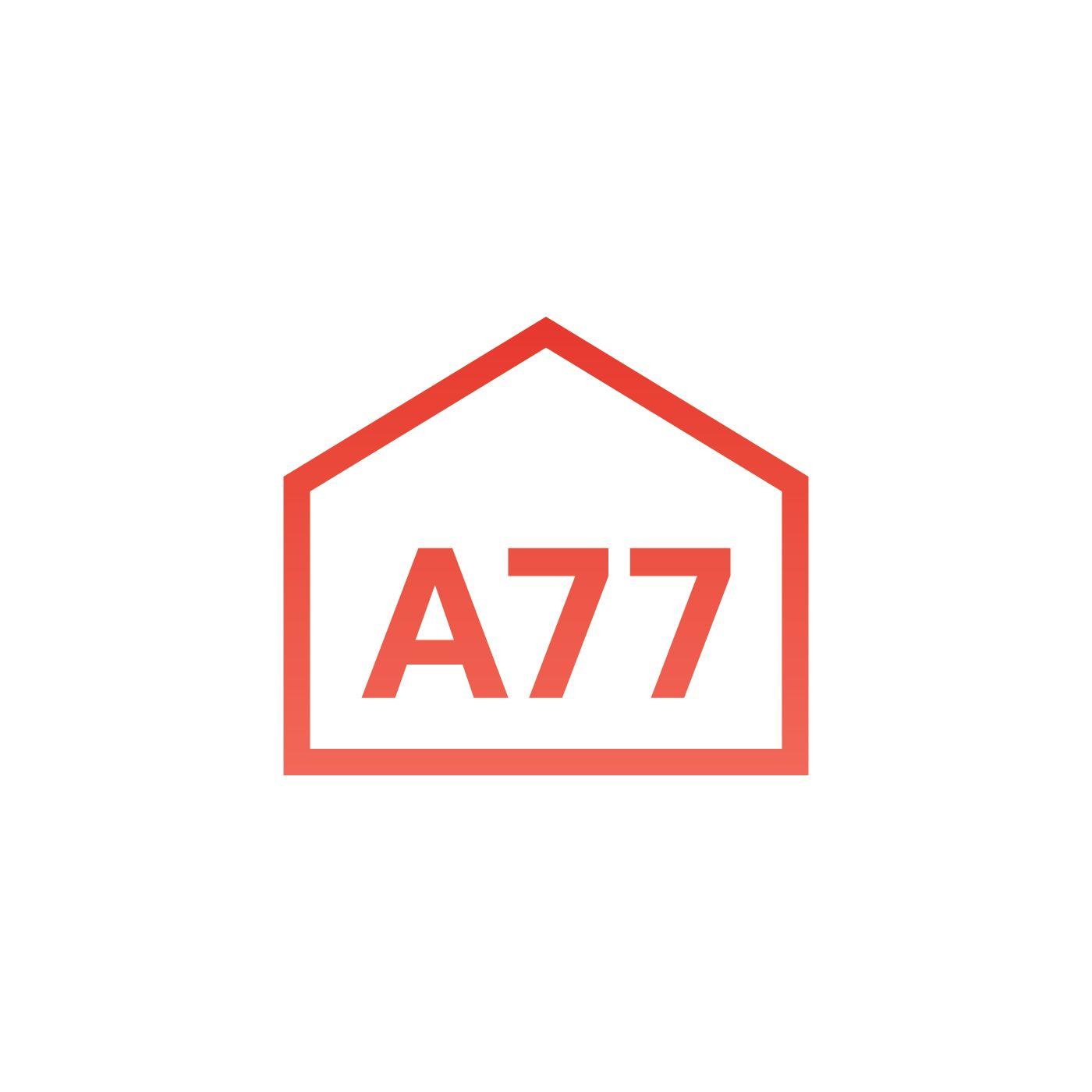 Лого для сайта по коммерческой недвижимости A77.RU - дизайнер rikozi