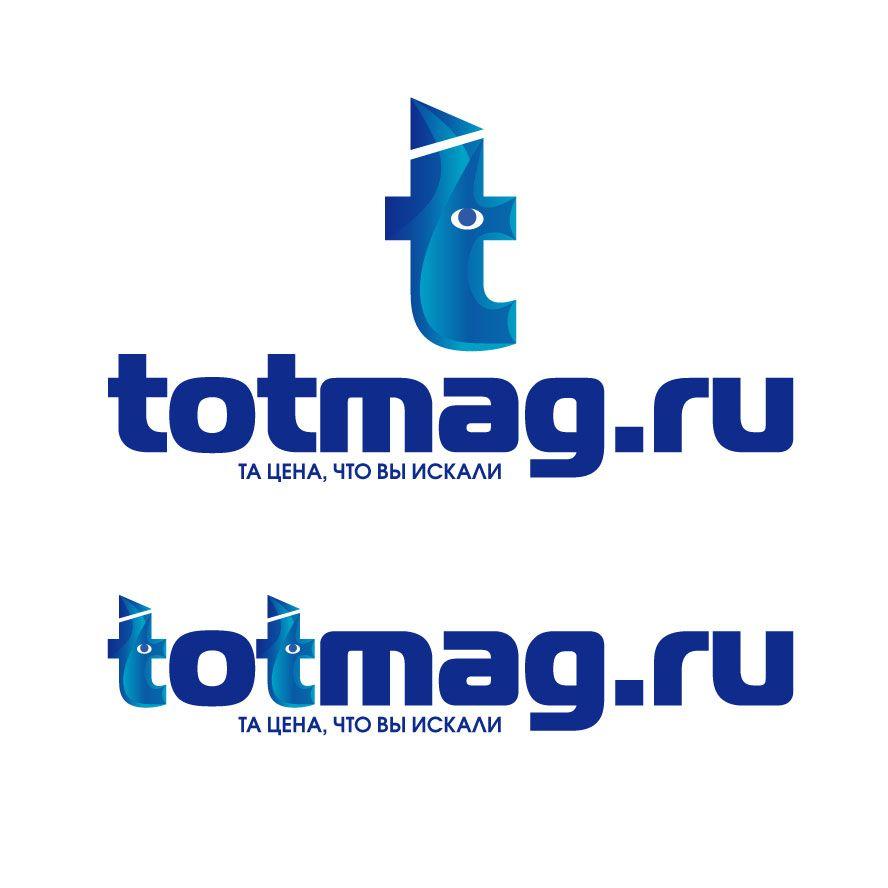 Логотип для интернет магазина totmag.ru - дизайнер zhutol