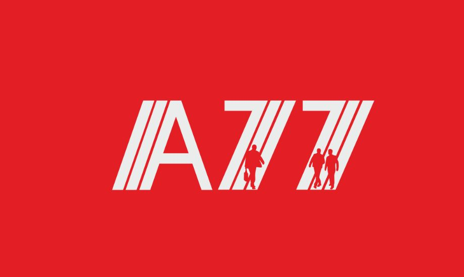 Лого для сайта по коммерческой недвижимости A77.RU - дизайнер sv58