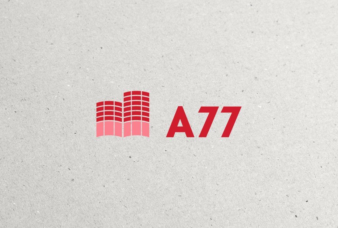 Лого для сайта по коммерческой недвижимости A77.RU - дизайнер hpya