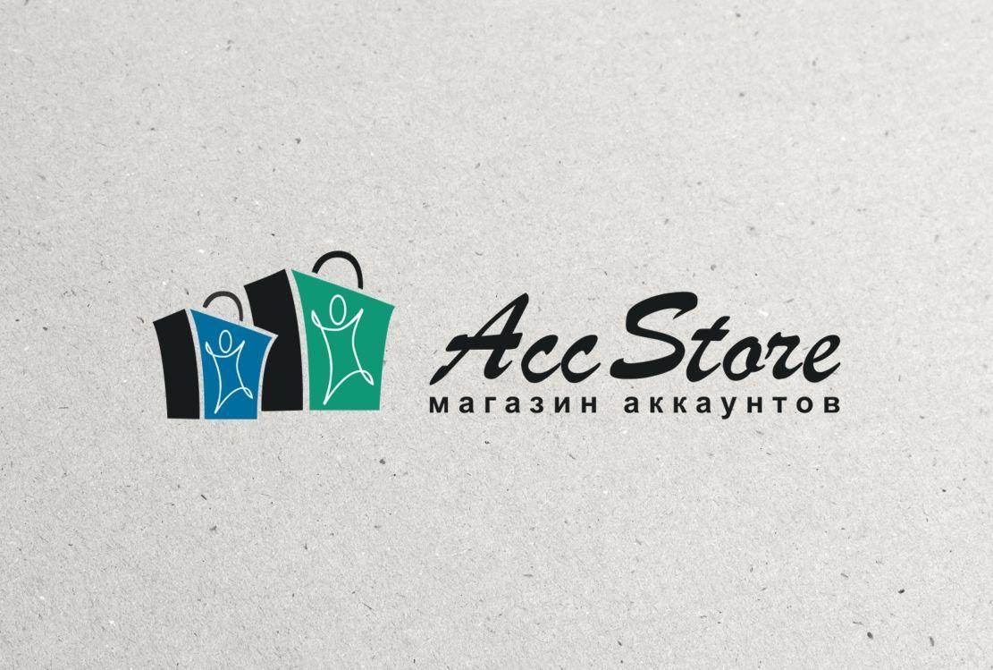 Логотип для магазина аккаунтов - дизайнер hpya