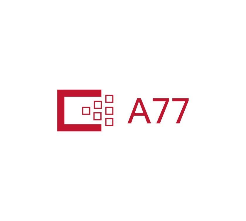 Лого для сайта по коммерческой недвижимости A77.RU - дизайнер MURACAN