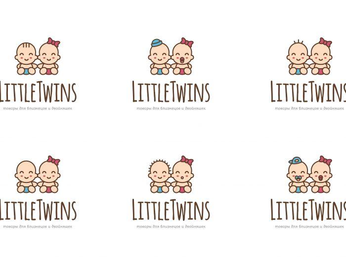 Логотип детского интернет-магазина для двойняшек - дизайнер this_optimism