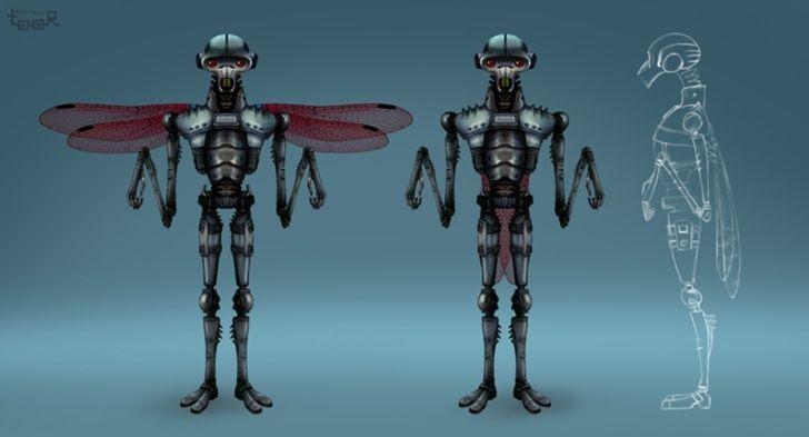 Нужен скетч персонажа для игры - дизайнер Toor22
