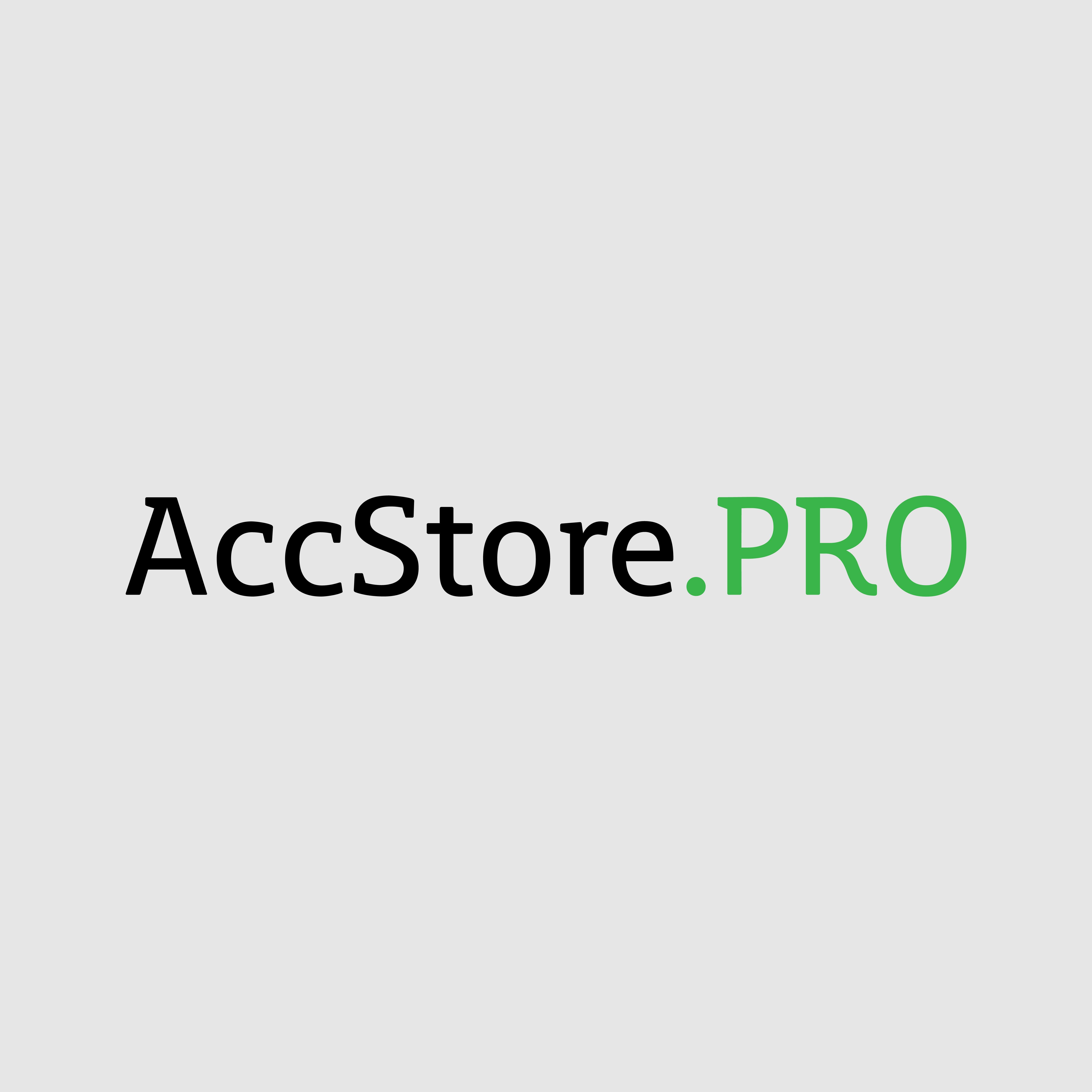 Логотип для магазина аккаунтов - дизайнер ErmolenkoDanila