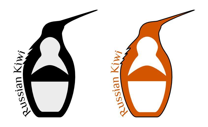 Логотип форума русских эмигрантов в Новой Зеландии - дизайнер ldco