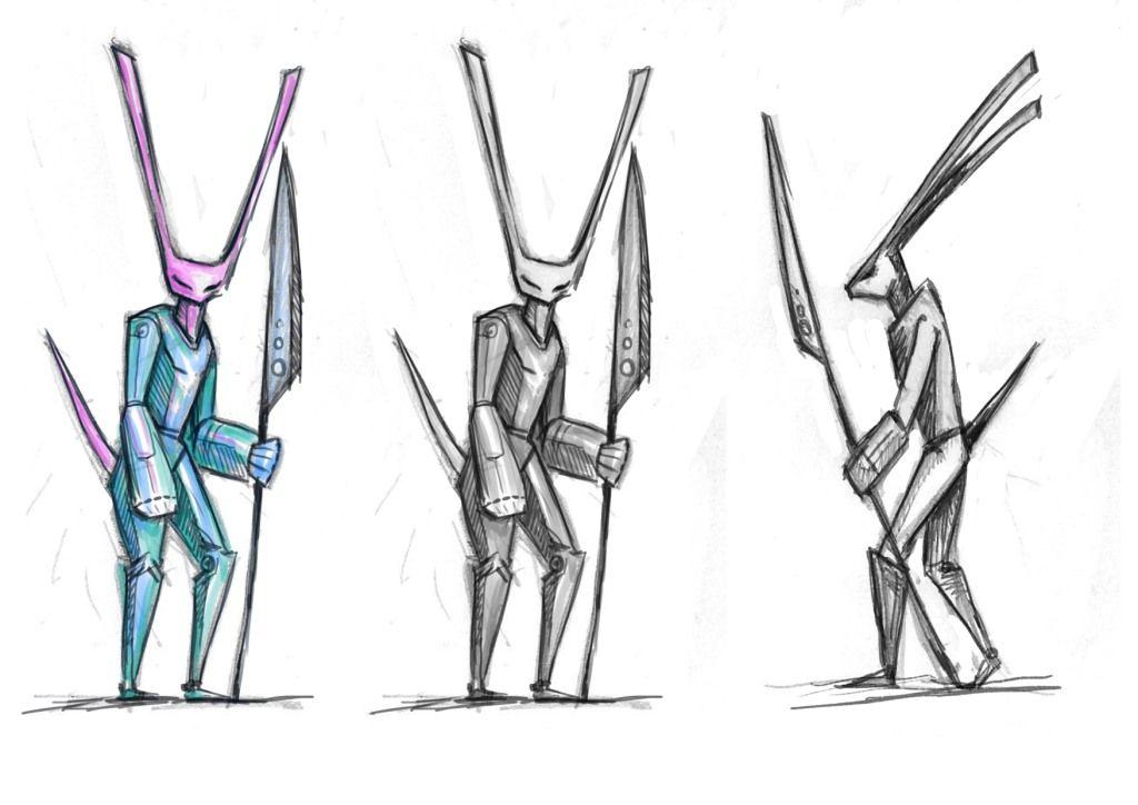 Нужен скетч персонажа для игры - дизайнер dynila3