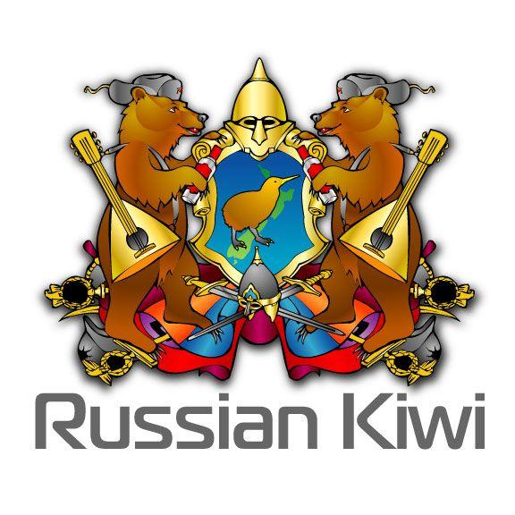 Логотип форума русских эмигрантов в Новой Зеландии - дизайнер zhutol