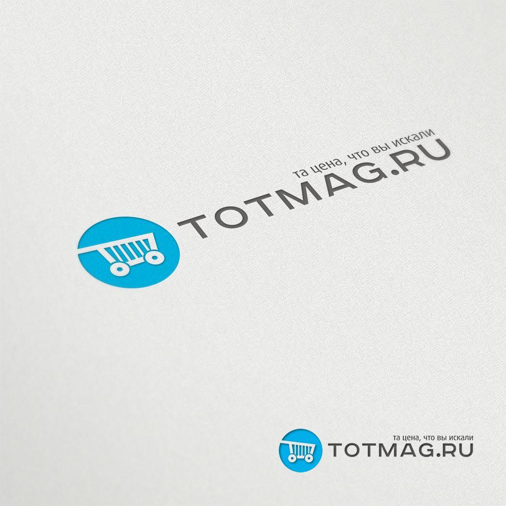 Логотип для интернет магазина totmag.ru - дизайнер mz777