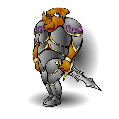 Нужен скетч персонажа для игры - дизайнер zhutol