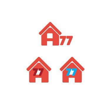 Лого для сайта по коммерческой недвижимости A77.RU - дизайнер Spaiti