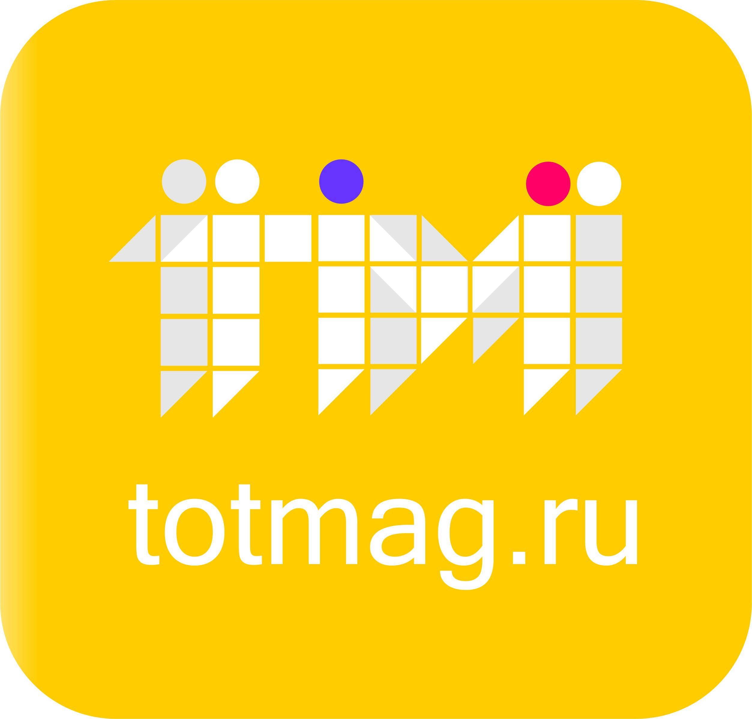 Логотип для интернет магазина totmag.ru - дизайнер visento