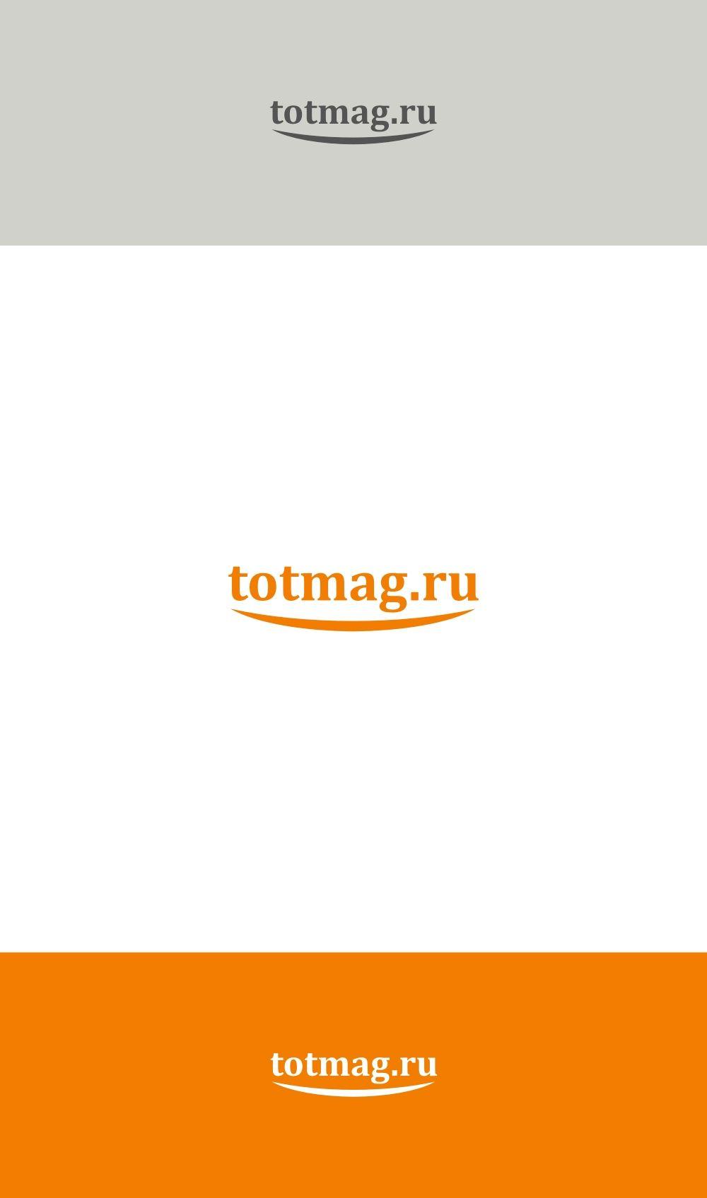 Логотип для интернет магазина totmag.ru - дизайнер 4shark