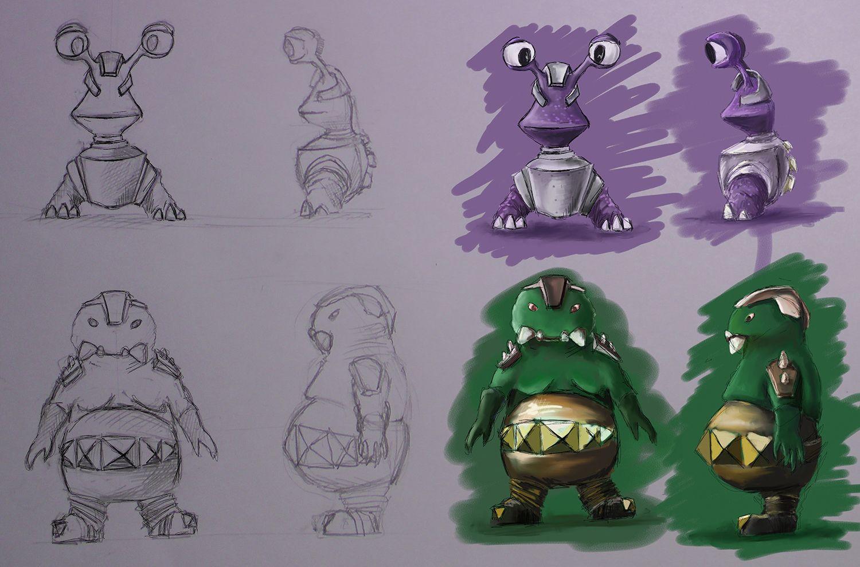 Нужен скетч персонажа для игры - дизайнер AAKuznetcov