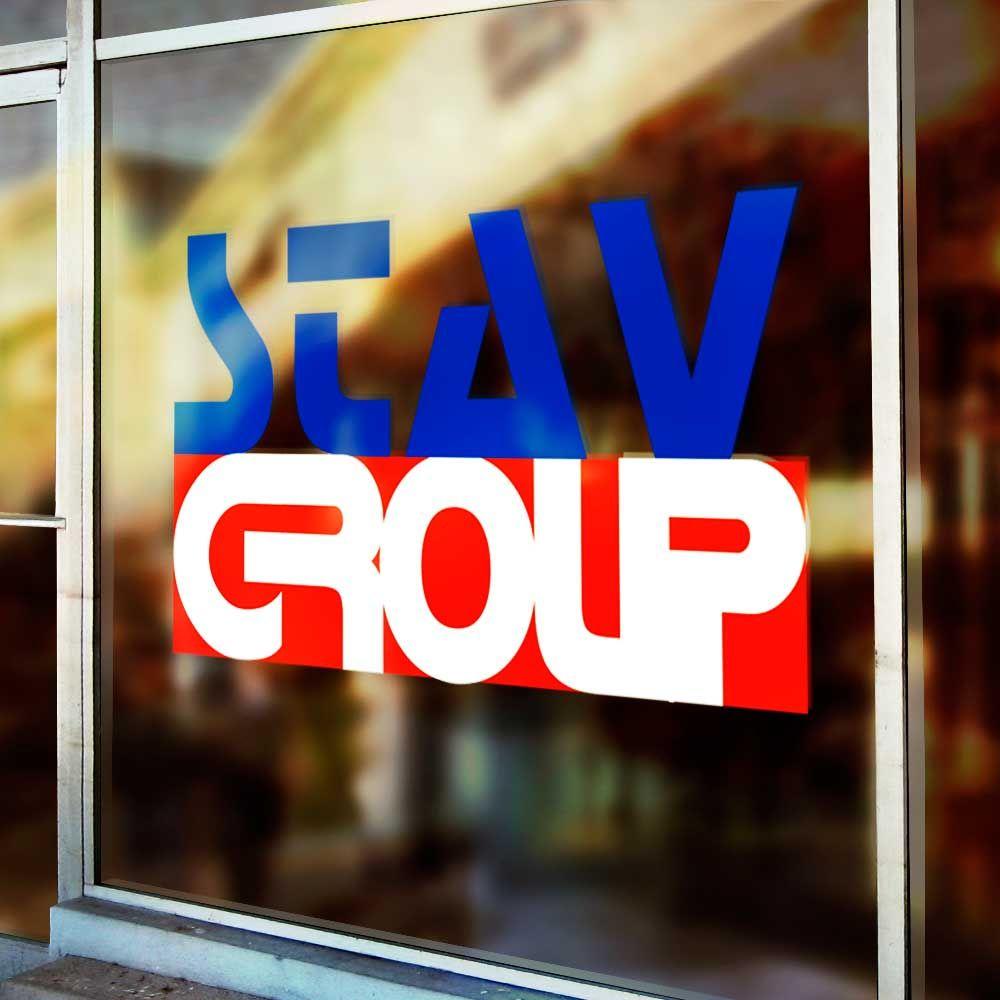 Лого и фирменный стиль для STAVGROUP - дизайнер path