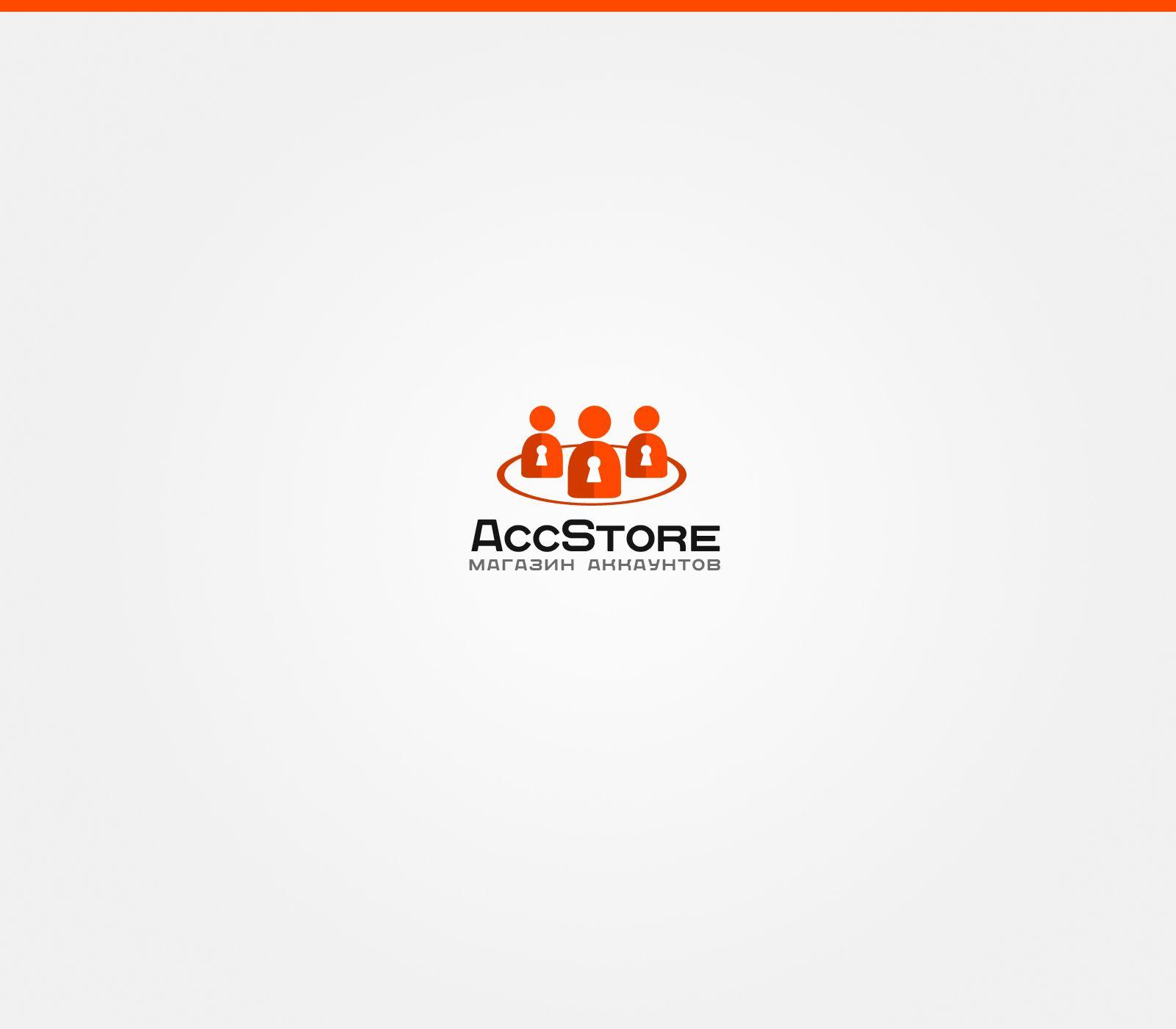 Логотип для магазина аккаунтов - дизайнер benks