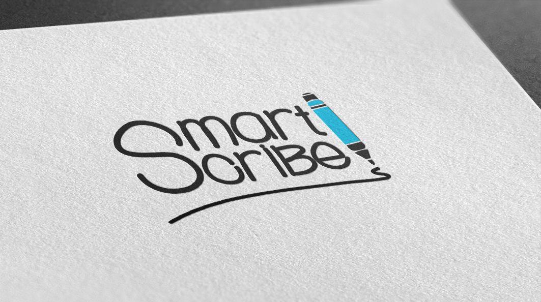 Лого, визитка и шаблон презентации для SmartScribe - дизайнер YuliyaYu