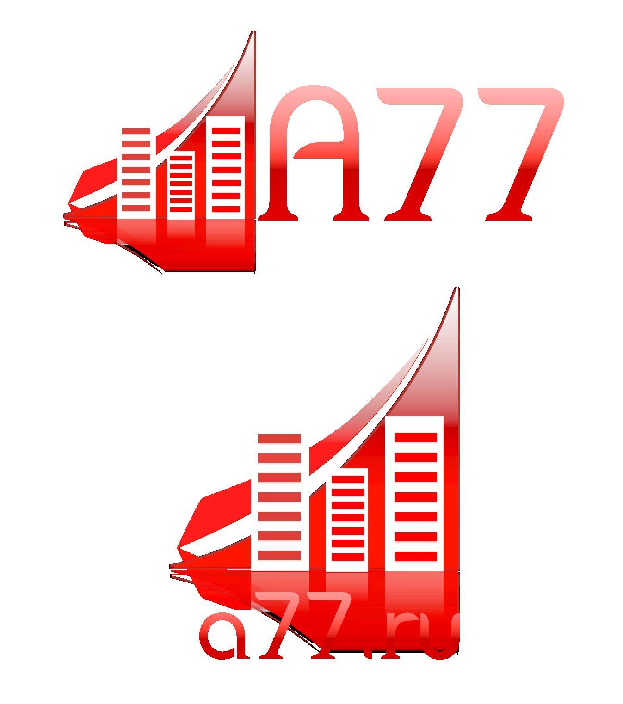 Лого для сайта по коммерческой недвижимости A77.RU - дизайнер kandilab