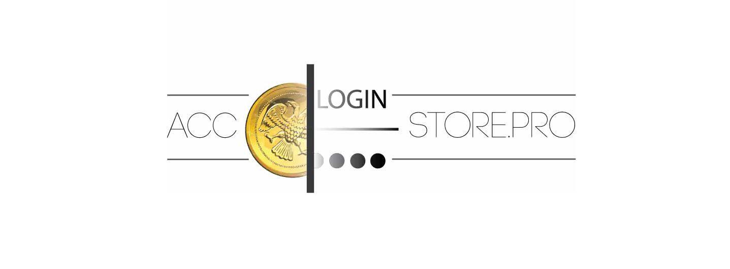 Логотип для магазина аккаунтов - дизайнер Gektor8