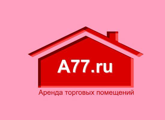 Лого для сайта по коммерческой недвижимости A77.RU - дизайнер web_fl